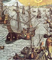 Spanish Treasure Fleet from 17th Century