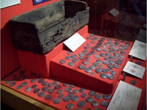 Pieces of Eight displayed in museum exhibits!