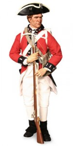 This is the uniform that Captain Stratton probably wore!  A pirate in disguise perhaps?