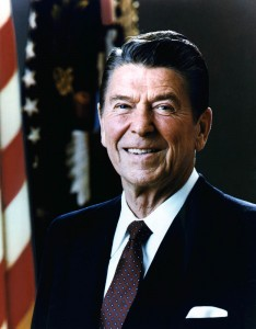 --President Ronald Reagan--  He signed this bill into law.