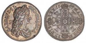 18th century shillings.