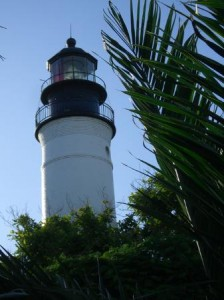 The beautiful lighthouse in Key West! We sure are glad to have it!