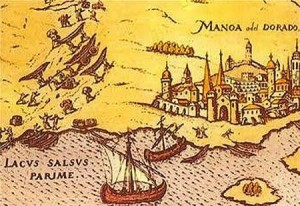 Cartography including the legendary City of Gold.