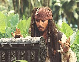 For instance, Captain Jack Sparrow's treasure wasn't gold, but Davy Jones' heart!