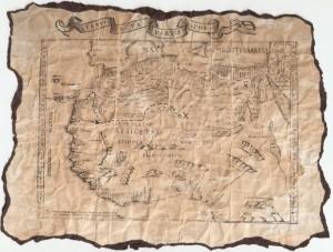 We sure love looking at treasure maps!