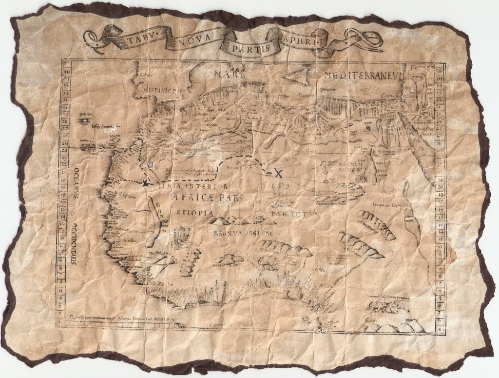 Real Treasure Maps The Oldest Treasure Map in History   Key West Shipwreck Museum