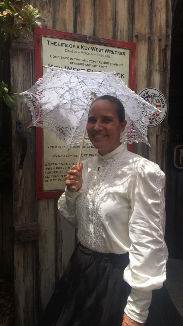 Castmember Spotlight Valerie Key West Shipwreck Museum