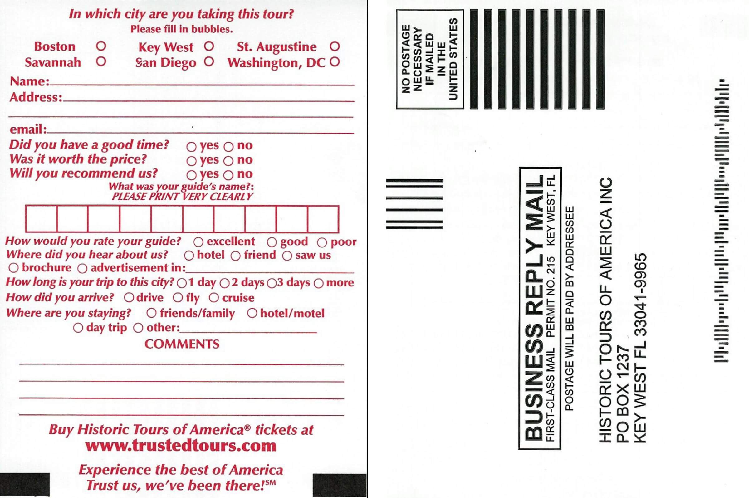 picture of a sample gateway ticket